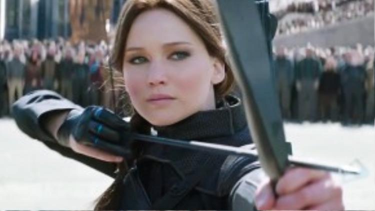 Mũi tên quyết định của Katniss.