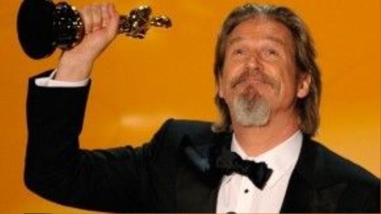 Trong sự nghiệp diễn xuất gần 100 phim của mình, Jeff Bridges đã sáu lần được đề cử giải Oscar, ông thắng một trong số đó.