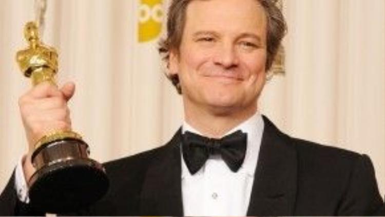 Colin Firth đã phải vượt qua hàng loạt ứng viên nặng ký, trong đó có cả James Franco (trong phim 127 Hours) để thắng tượng vàng danh giá.