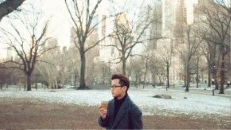 Những ngày tháng trải nghiệm cuộc sống tại New York sẽ là chất liệu để Yun hoàn thành dự án cookbook thứ tư của mình.