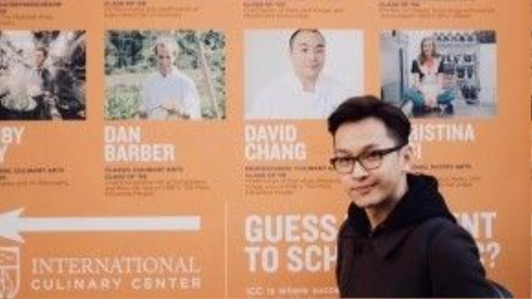 Tại New York, Yun theo học ngành Food styling for Television & Media (Trình bày món ăn trong lĩnh vựcTruyền hình và Truyền thông) tại International Culinary Center (Trung tâm Ẩm thực Quốc tế).