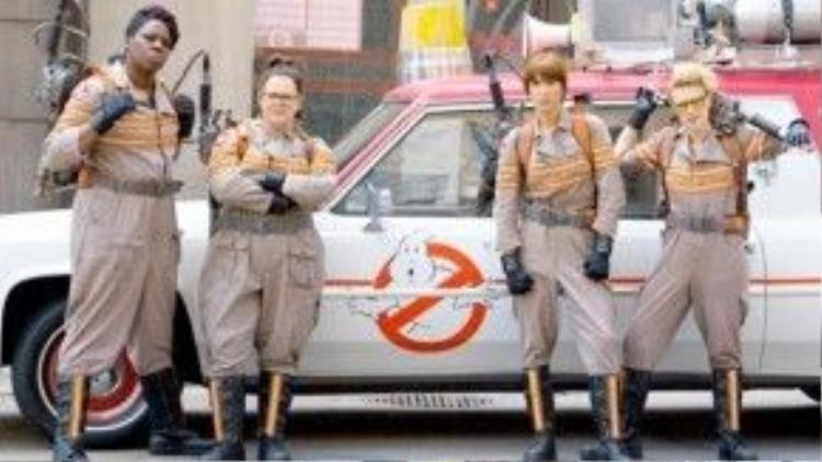 Năm nay, Ghostbusters sẽ tái ngộ khán giả với Biệt đội săn ma phiên bản nữ.