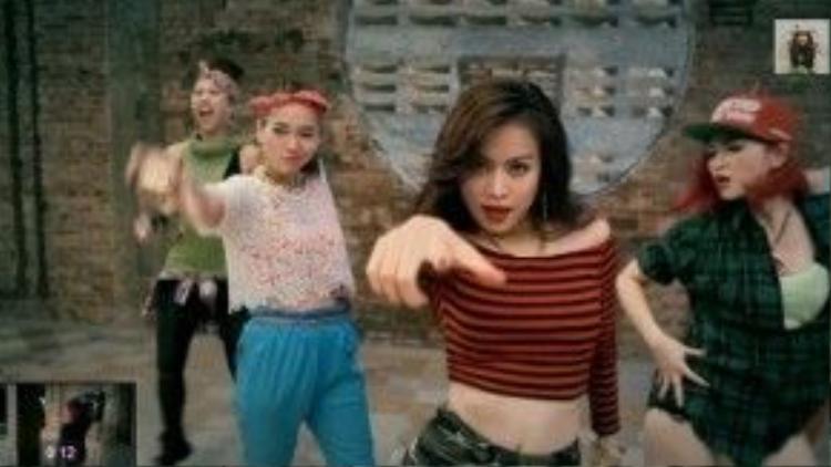 MV High được hoàng Thùy Linh sử dụng công nghệ one take.