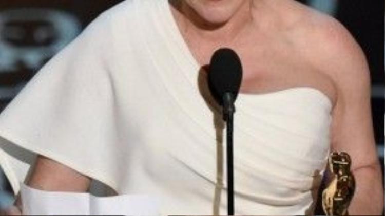 """Nhận được đến sáu đề cử, nhưng """"Boyhood"""" chỉ thắng một giải duy nhất dành cho Patricia Arquette."""