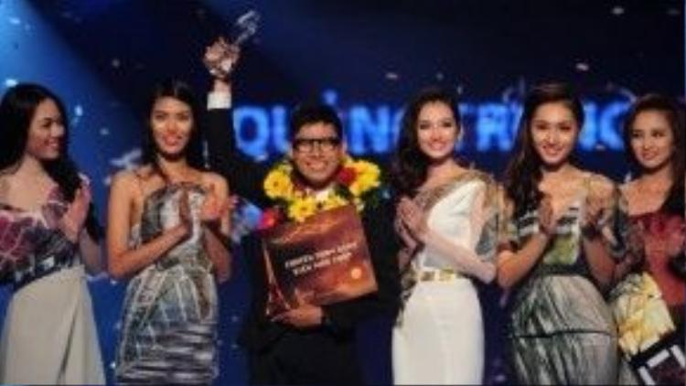 Quán quân Fashion Star - Ngôi sao thời trang Việt, giúp Nhật mở ra một con đường mới.