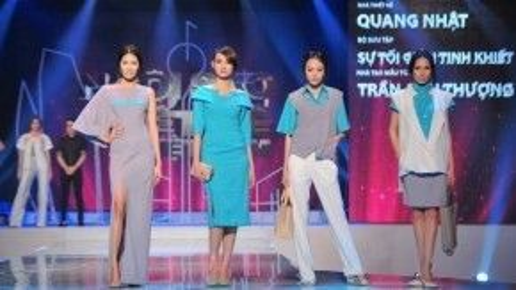 Thời gian tham gia chương trình Ngôi sao thiết kế thời trang, Quang Nhật đã học hỏi được rất nhiều kinh nghiệm.