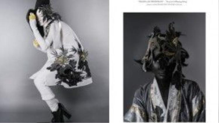 …Vì Nhật nghĩ phải đi đến từng vùng đấtđể cảm nhận được nét văn hóa trầm tích lâu đời một cách chân thực. Con người và hình ảnh của họkhiđó mới hội tụ đầy đủ những gì đẹp nhất và tinh túy nhất trên từng bộ trang phục…