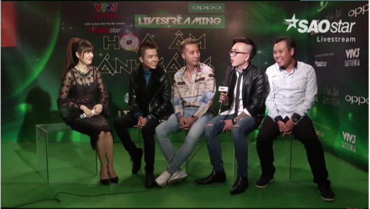 Livestream hậu trường: Khoảnh khắc chia tay đầy nụ cười của Emily  Hạnh Sino