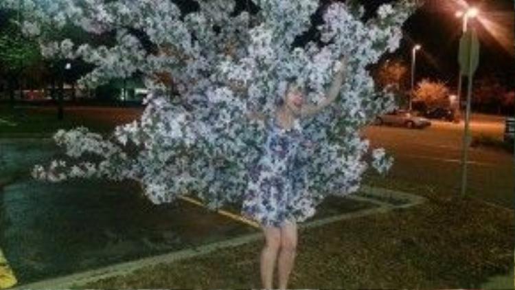 Nhiều người nhìn thoáng qua cứ tưởng cái cây có chân!