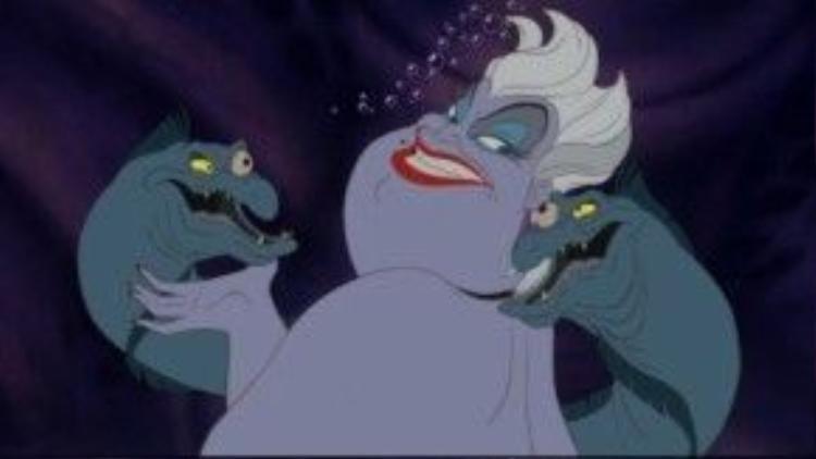 Mụ phù thuỷ biển Ursula được lấy hình tượng từ một drag queen nổi tiếng những năm 70.