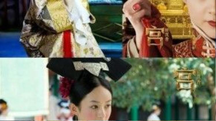 """Vai diễn Lưu Ly ác độc trong """"Cung tỏa trầm hương"""" đã trở thành lý do khiến Triệu Lệ Dĩnh bị phản đối đóng """"tiểu bạch thỏ"""" Tiết Sam Sam."""