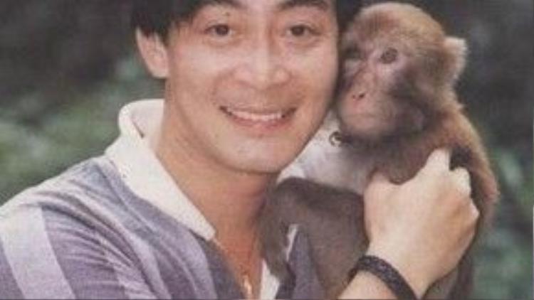 Hình ảnh năm ấy của Lục Tiểu Linh Đồng. Người nghệ sĩ gắn cả đời với vai Tôn Ngộ Không.