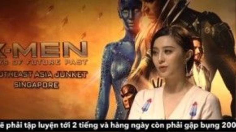 Nữ diễn viên đã có buổi trò chuyện thân mật với Phạm Băng Băng