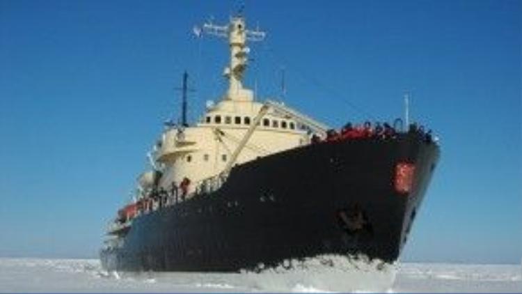 Trải nghiệm trên tàu phá băng Sampo.