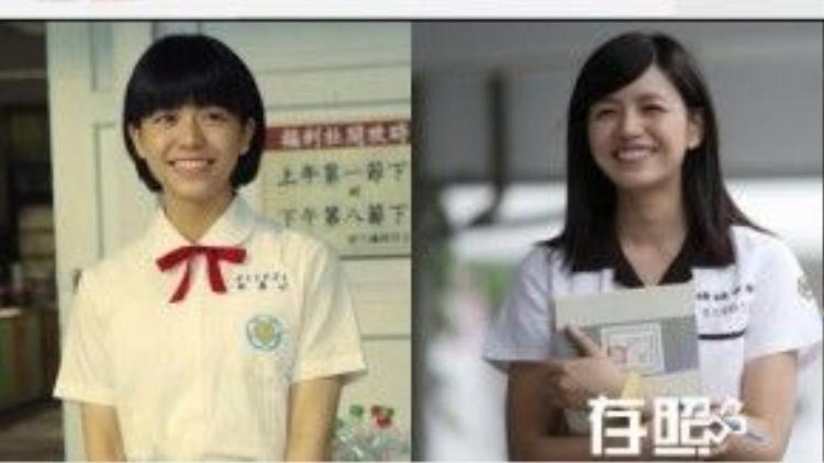 """Tống Vân Hoa gần như y chang Trần Nghiên Hy.Nhưng hiện nay, cô đã vượt qua cái bóng của đàn chị. Tại Đài Loan, cô được ví von là """"nữ thần trường học"""" thay vị trí năm xưa của Nghiên Hy."""