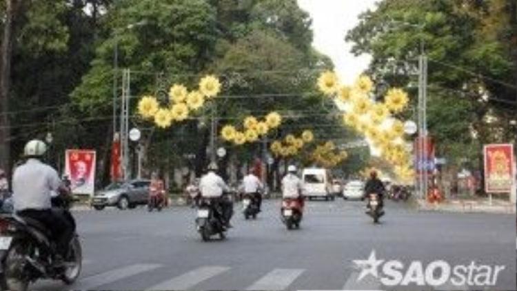 Đại lộ Lê Duẩn.
