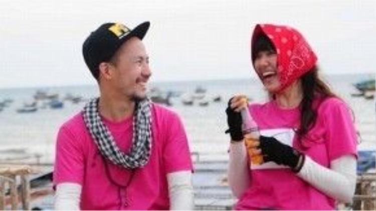 """Hari Won - Tiến Đạt và """"Nơi tình yêu bắt đầu""""."""