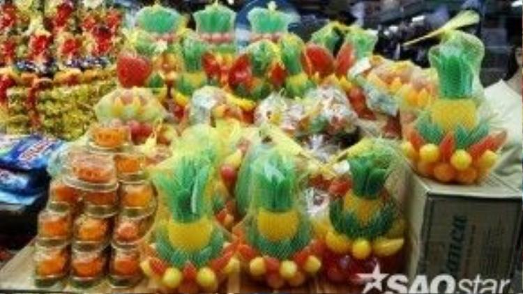 Nhữngbiến thể khác của cam đường làmâm ngũ quả…