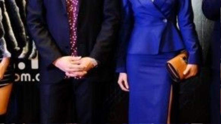 Thủ vai ông trùm Thomas trong bộ phim Tết Siêu trộm của đạo diễn Hàm Trần, Teo Yoo là một trong những diễn viên Hàn Quốc hiếm hoi góp mặt trên màn ảnh rộng Việt Nam năm nay. Bên cạnh anh là nữ diễn viên chính Nhung Kate.