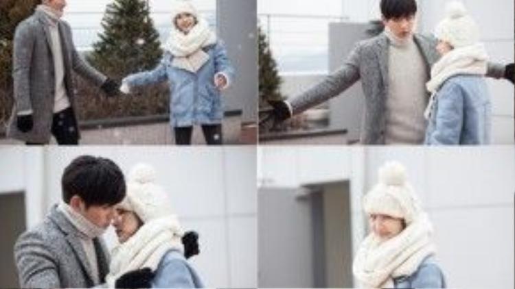 """Những hình ảnh tình tứ của cặp đôi Seo Jung Hoo (Ji Chang Wook) và Chae Young Shin (Park Min Young) trong """"Healer"""" (Cứu thế) đã giúp cho mùa đông lạnh lẽo trở nên ấm áp hơn."""