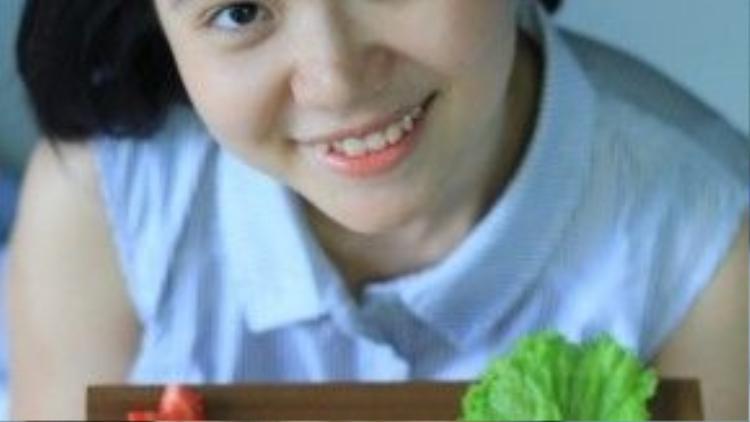 Nhờ biết cách cân đối khẩu phần ăn và làm cơm bento để việc ăn kiêng không nhàm chán, Cẩm Ly đã giảm được 14 kg.