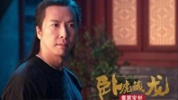 """Chân Tử Đan tiếp tục với dòng phim võ thuật. Anh xuất hiện với vai Mạnh Tư Chiêu trong """"Ngọa hổ tàng long: Thanh minh bảo kiếm""""."""