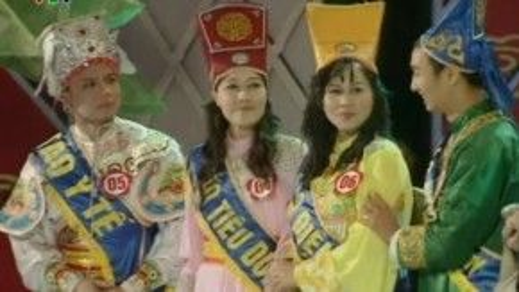 Chương trình bắt đầu đa dạng hơn, có hẵn Cuộc thi Hoa Táo 2009 với những bộ trang phục tràn ngập sắc màu.