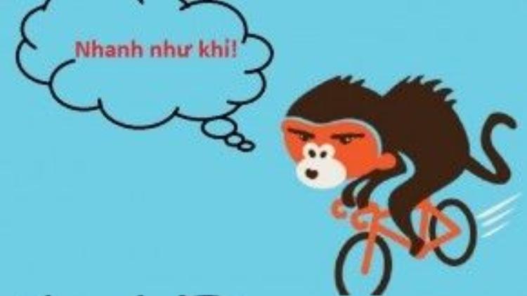 Chính vì thế nên người châu Á mới cho rằng khỉ là hình tượng của sự thông minh, láu lỉnh, tinh nghịch và hoạt bát.
