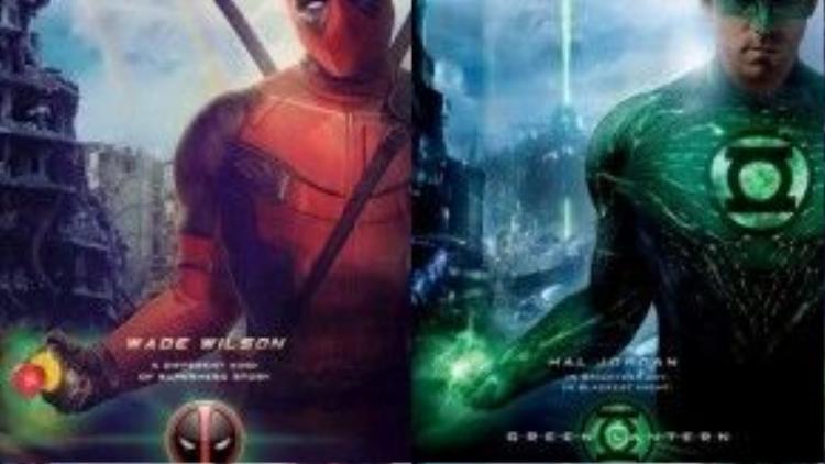 Không dưới một lần nhân vật Green Lantern bị đem ra làm trò đùa bởi chính diễn viên từng thủ vai.