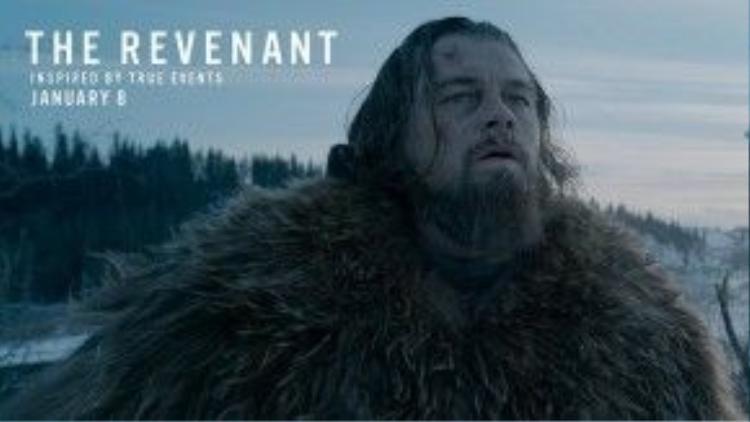 DiCaprio trong vai Hugh Glass.