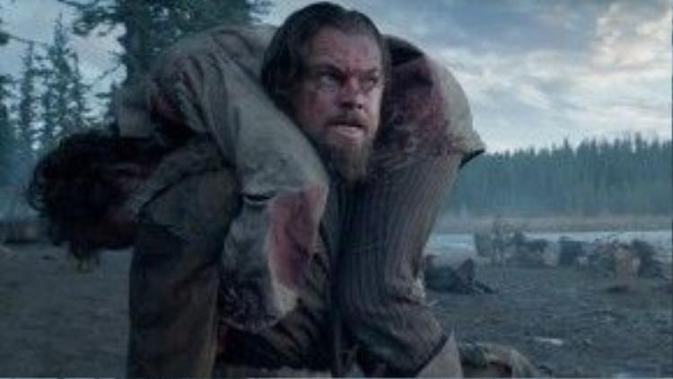 Người ta chưa từng thấy Leo giận giữ đến thế, méo mó đến thế trên màn ảnh.