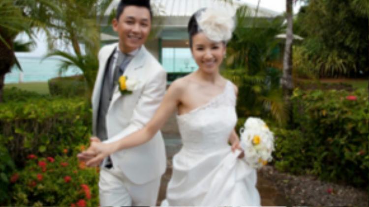 Đổng Khiết và Phan Việt Minh thời hạnh phúc.