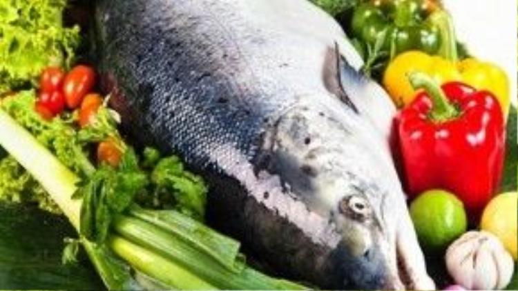 Cá là món ăn thường có mặt trong bữa ăn ngày Tết của người Trung Quốc.