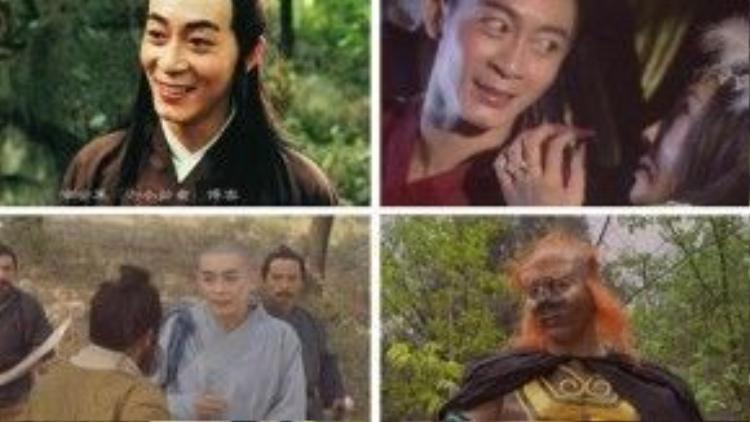 Lục Tiểu Linh Đồng và các tạo hình khác nhau trong phim.