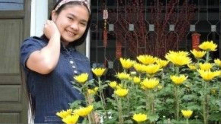 Hơn 1 năm kể từ ngày đăng quang Giọng hát Việt nhí, cô bé Đu Đủ lớn phổng phao và ra dáng thiếu nữ.