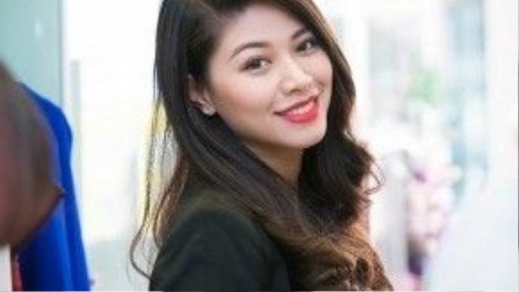 Ngọc Trinh vắng bóng trong các chương trình của Trung tâm Tin tức VTV24 cuối năm 2015. Ảnh: Chí Linh