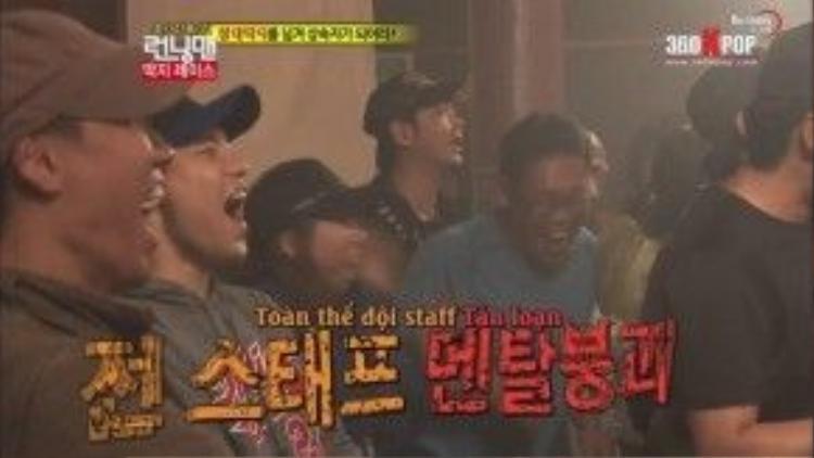 Cả các Staff cũng bất ngờ với kết quả của cuộc thi.
