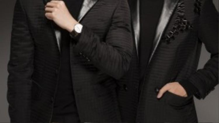 Nếu bạn yêu thích phong cách của 2 chàng siêu mẫu này thì nhanh chóng cập nhật 2 gợi ý mix áo khoác ngoài cho set đồ áo thun và quần âu.