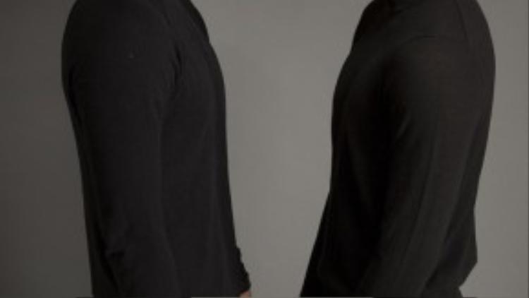 Mỗi người đều có nét mặt cá tính khác nhau nhưng vì đều sở hữu thân hình chuẩn siêu mẫu nên nhiều người lầm tưởng họ là một cặp song sinh khi cùng mặc trang phục giống nhau.