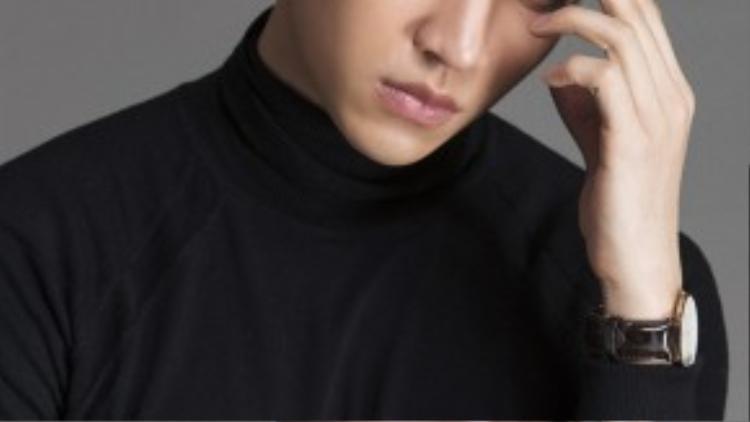 Cận cảnh nhan sắc của siêu mẫu nam thần Võ Cảnh.