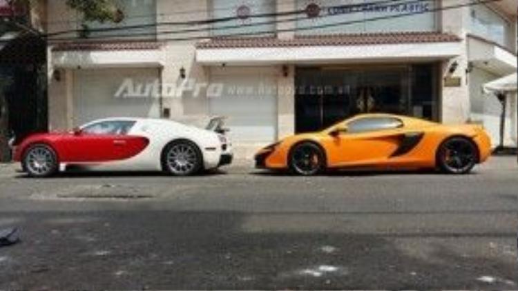 Chiếc siêu xe McLaren 650S Spider màu cam đã được đưa về Việt Nam vào những ngày cuối năm 2015. Sau đó, xe nhanh chóng được ra biển trắng khá đẹp là 51F-979.79. Đối lập với ngoại thất cam là nhiều chi tiết làm từ chất liệu sợi carbon cùng bộ la-zăng màu đen nhám. Bên trong xe, hai màu sắc cam và đen tiếp tục xuất hiện.