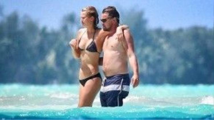 Cả Leonardo Dicaprio cũng không thể cưỡng lại sức hút quá sức lớn của Bora Bora.