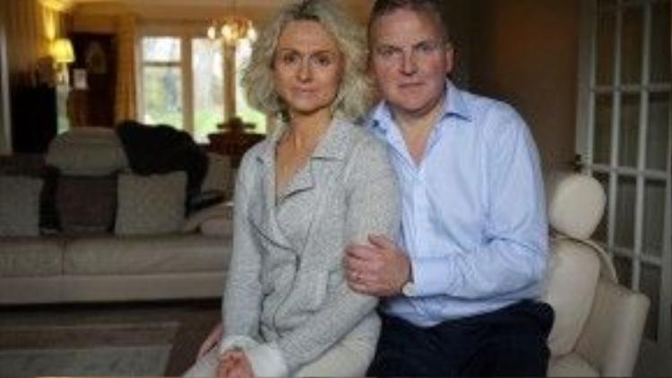 Simon Binner và vợ trong những ngày còn ở tại thế gian.