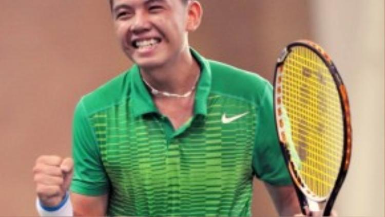 Ngôi sao trẻ đang lên của làng quần vợt Việt Nam, Lý Hoàng Nam