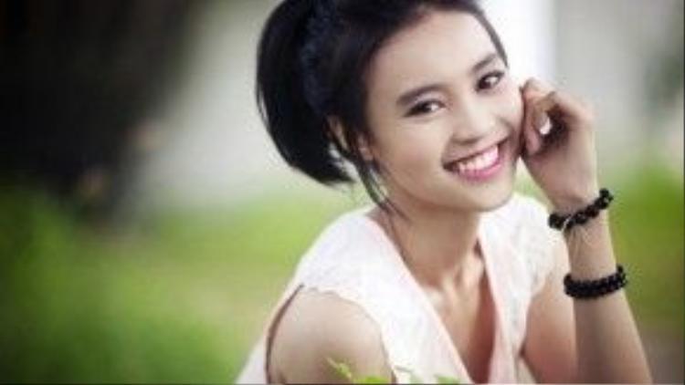 Cận cảnh khuôn mặt xinh đẹp của Ninh Dương Lan Ngọc - Ngọc nữ mới của điện ảnh Việt Nam.
