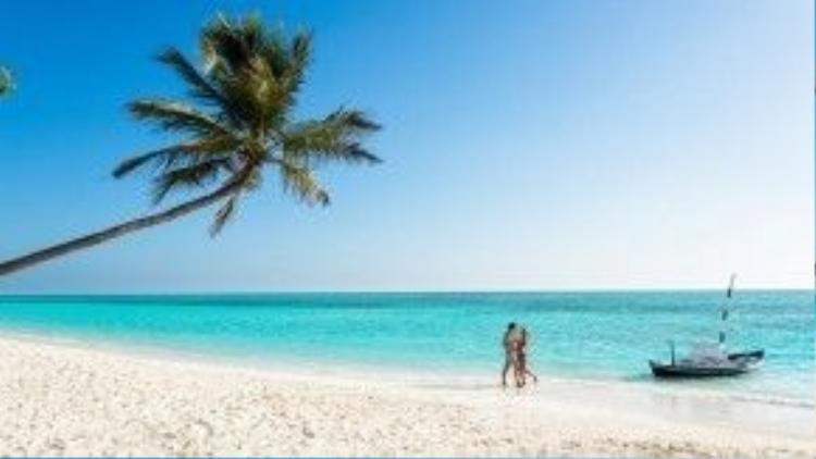 Meeru, Maldives: Meeru là một hòn đảo thuộc quần đảo Male. Tourism With Me mô tả đây là nơi để thư giãn và chiêu đãi bản thân, với những bãi cát trắng muốt, các rạn san hô tuyệt đẹp đầy động vật biển. Ảnh: Meeru.
