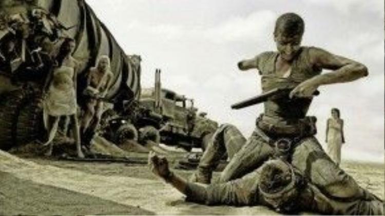 Mad Max: Fury Road là phim thắng nhiều giải thứ hai ở BAFTA 69 với 4 bức tượng danh giá.