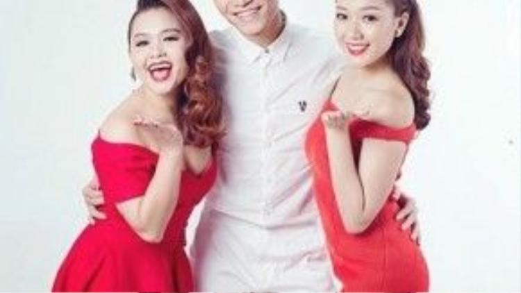 Team Divo gồm BB Trần, Huỳnh Mến và Băng Di.