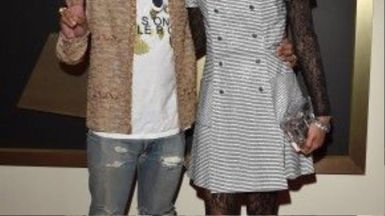 Ca sĩ, nhạc sĩ Pharrell Williams đến cùng vợ - Helen Lasichanh