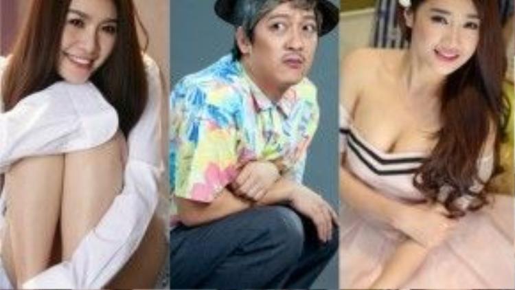"""Trường Giang cùng mối tình với hai mỹ nhân Quế Vân - Nhã Phương """"khai màn"""" cho scandal đầu năm mới."""